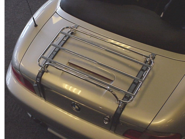 Gepäckträger Edelstahl für BMW Z3 ab 04.99-2002 und alle M-Roadster