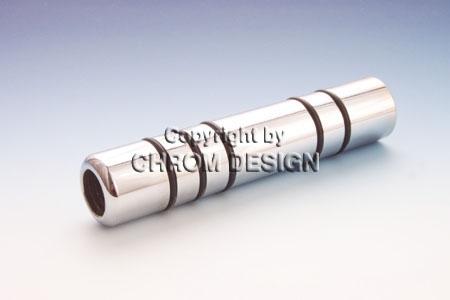 Handbremsgriff Form A, O-Ring (Chrom)